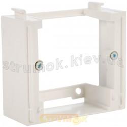 Адаптер дополнительный Fiorena 22012202 Hager / Polo белый цвет наружной установки
