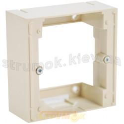 Адаптер основной Fiorena 22012103 Hager / Polo слоновая кость наружной установки