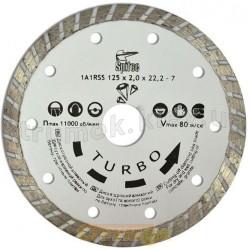 Алмазный диск по бетону, камню TURBO 150 мм 22-809 Turbo