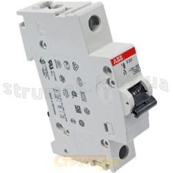 Автоматический выключатель ABB S201 B 63А 6кА 2CDS251001R0635 1-полюсный