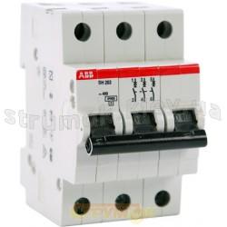 Автоматический выключатель ABB SH203 В40А 6кА 3-полюсный 2CDS213001R0405