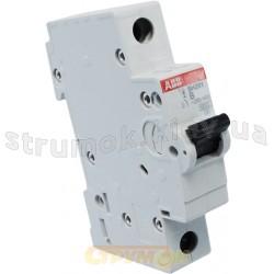 Автоматический выключатель ABB SН 201 B 6А 6кА 1-полюсный 2CDS211001R0065