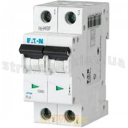 Автоматический выключатель Eaton (Moeller) PL-4 C-32A 4,5кА 293145 2-полюсный