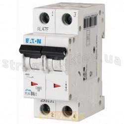 Автоматический выключатель Eaton (Moeller) PL-4 C-50A 4,5кА 293147 2-полюсный