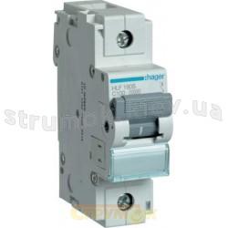Автоматический выключатель Hager In=100А C 10kA HLF190S 1-полюсный (1.5M)