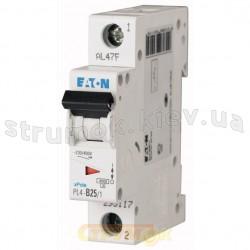 Автоматический выключатель PL-4, 1-полюсный C-40A 4,5кА 293128 Eaton (Moeller)