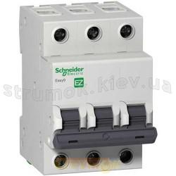 Автоматический выключатель Schneider EASY9 10А С 4,5кА EZ9F34310 3-полюсный