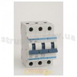 Автоматический выключатель Sigma Elektrik С,125А, 3-п, 6кА, 6SM312C 3-полюсный
