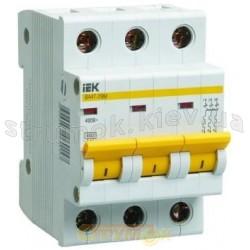 Автоматический выключатель ВА47-29М 3р 40А, 4,5кА ИЭК MVA21-3-040-C