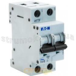 Автоматический выключатель 25 А С PL6-С25/2 6кА Eaton (Moeller) 2-полюсный 286569