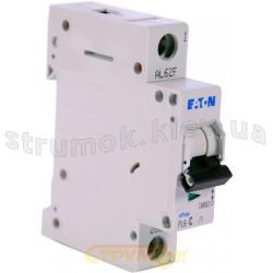 Автоматический выключатель 50 А С PL6-С50/1 6кА Eaton (Moeller) 1-полюсный 286538