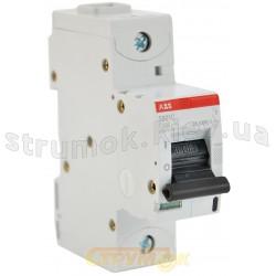 Автоматический выключатель АВВ S 801С С 100А 8кА 1-полюсный 2CCS881001R0824