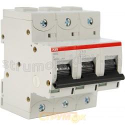 Автоматический выключатель АВВ S803 С 80А 10кА 3-полюсный 2CCS883001R0804
