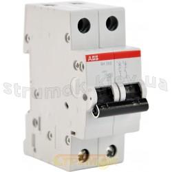 Автоматический выключатель АВВ SН 202 B 25А 6кА 2-полюсный 2CDS212001R0255