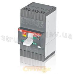 Автоматический выключатель АВВ T1B 160 TMD125-1250 3p F FC Cu (3х70mm2)
