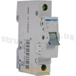 Автоматический выключатель In=16А C 6kA MC116A Hager