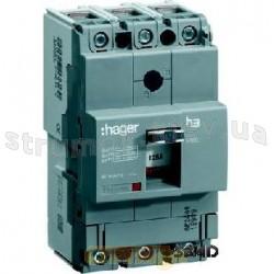 Автоматический выключатель Hager In=160 А 18kA HDA161L ТфиксМфикс 4-полюсный