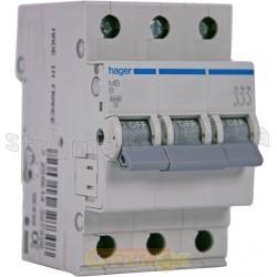 Автоматический выключатель In=20А В 6кА 3-фазный МВ320А Hager