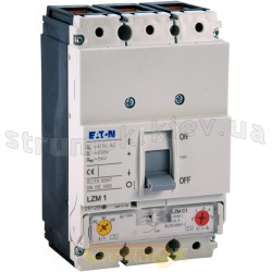 Выключатель автоматический LZMC1-A100-I In=100A C 36кА 3-полюсный Eaton (Moeller) 111895