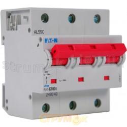 Автоматический выключатель PLНТ C-100A 20kA 3-фазный Eaton (Moeller) 248040