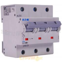 Автоматический выключатель PLНТ C-80A 20kA 3-полюсный Eaton (Moeller) 248039