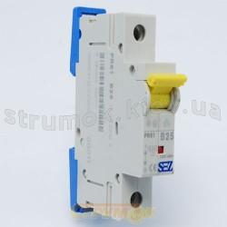 Автоматический выключатель SEZ PR 61-С 25А 10кА 1-полюсный