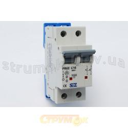 Автоматический выключатель SEZ PR 62-С 40А 10кА 2-полюсный