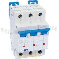 Автоматический выключатель SEZ PR 63-С 40А 10кА 3-полюсный