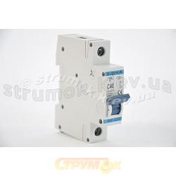 Автоматический выключатель, С ,40А, 1-п, 6кА, SIGMA 6SM140C