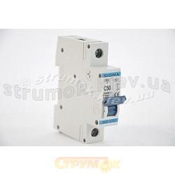 Автоматический выключатель, С ,50А, 1-п, 6кА, SIGMA 6SM150C