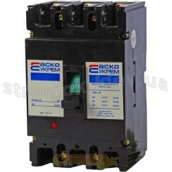 Автоматический выключатель Укрем ВА-2004/400 3р 400А D 35кА АсКо 3-полюсный A0010040023