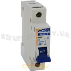 Автоматический выключатель Укрем ВА-2012 1р 20А С 6кА AcKo 1-полюсный A0010120004