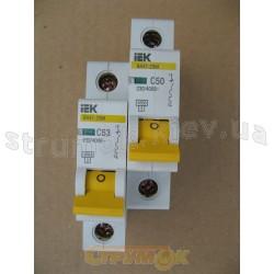Автоматический выключатель 1-фазный ВА47-29М 1р 63А, 4,5кА