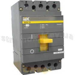 Автоматический выключатель ВА88-32 125А 25кА 3-полюсный ИЭК SVA10-3-0125