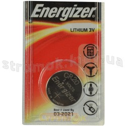 Батарейка Energizer Lithium CR 2032 (блистер-1шт) 611326