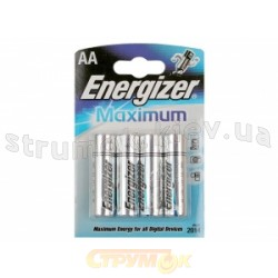 Батарейка Energizer Maximum AALR6 (блистер - 4шт) 629755