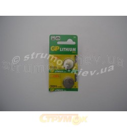 Батарейка GP CR2016-U5 (литиевая)