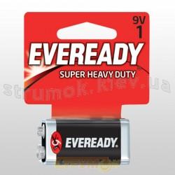 Батарейка (крона) EVEREADY SHD 9V6F22 FSB1, 622754