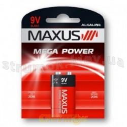 Батарейка MAXUS 6F22 крона