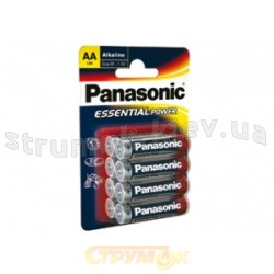 Батарейка Panasonic LR6 Essential  POWER4BP