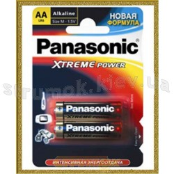 Батарейка Panasonic LR6 Xtreme power2BP
