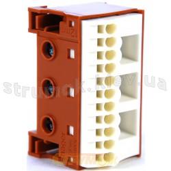 БЛОК фазных клемм Hager KN14Р 3x16мм2+11x4мм2 (фазные клеммы для щитов)
