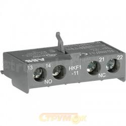 Блок-контакт фронтальный 1НО+1НЗ HKF1-11 для MS116 1SAM201901R1001