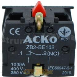 Блок контакт ZB2 - BE102