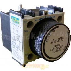 Блок задержки БЗ-13 (LA3-DR4, NO+NC, диапазон времени задержки:10-180cек., задержка при выключении