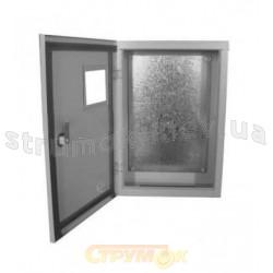 Бокс монтажный БМ-50Г (стекло) металлический  накладной герметичный IP54 350х500х200 Билмакс