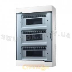 Бокс пластиковый 36 модулей накладной LEZARD 730-2000-036 с прозрачной крышкой