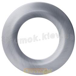 Декоративная накладка на светодиодный светильник Cover SDL Satin nickel Maxus LED хром 2-CSDL-SN-1 по 2 шт.