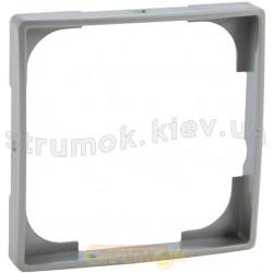 Декоративная вставка ABB Basic 55 2516-902-507 серебряный металлик