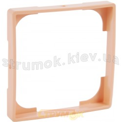 Декоративная вставка ABB Basic 55 2516-906-507 абрикосовый цвет